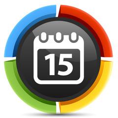 organizer calendar icon
