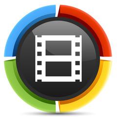 film reel strip icon