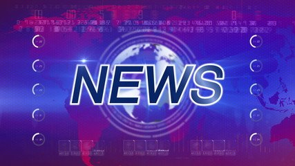 abstract background news
