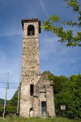 San Nicolò bell tower, Villafranca in Lunigiana, Italy