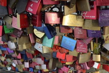 Мост влюблённых в Кёльне