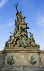 The Liberty Statue in the Reconciliation Park of Arad, Romania