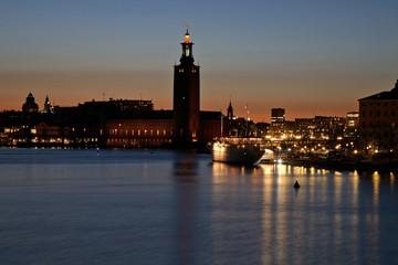 Stockholm City Hall in Stockholm. Sweden