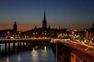 Bridge in Stockholm. Sweden