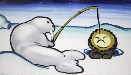 Seal fishing