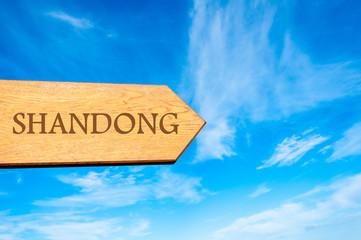 Destination SHANDONG, CHINA