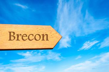 Destination BRECON, WALES