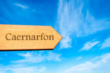 Destination CAERNARFON, WALES