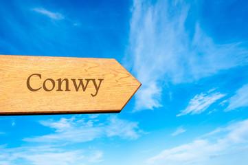 Destination CONWY, WALES