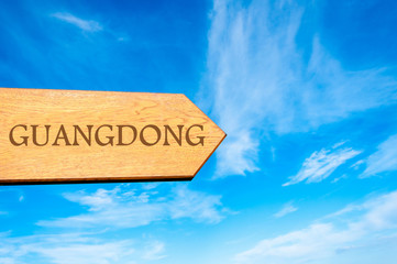 Destination GUANGDONG, CHINA
