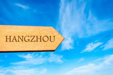 Destination HANGZHOU, CHINA