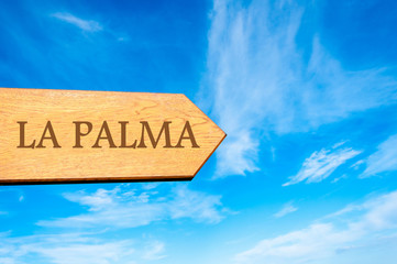 Destination LA PALMA, SPAIN