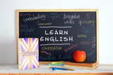 Fototapety Blackboard in an English class.