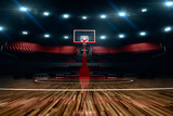 Fototapety Basketball court. Sport arena.