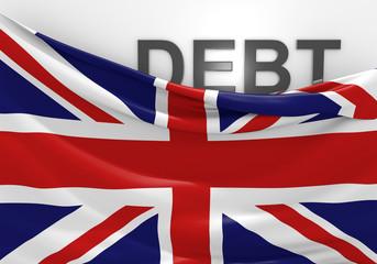 United Kingdom national debt and budget deficit financial crisis