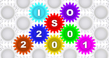 ISO 22001. Inscription on the gears