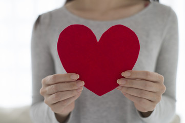 Women who have a red heart
