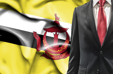Man in suit from Brunei