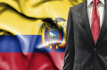 Man in suit from Ecuador
