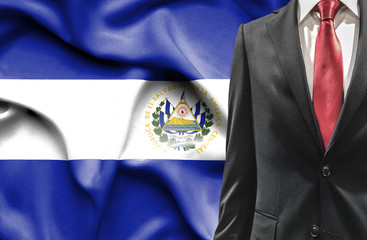 Man in suit from El Salvador