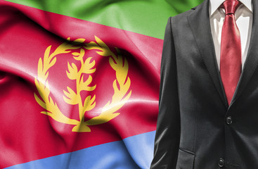 Man in suit from Eritrea