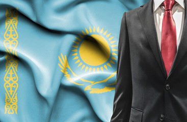 Man in suit from Kazakhstan