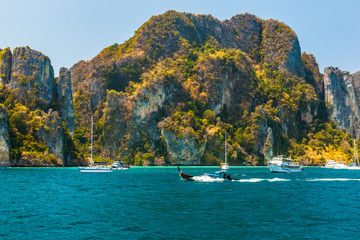 Majestic thai cliffs