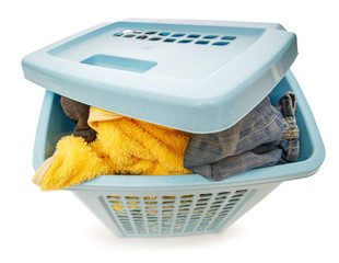Basket full of clothes