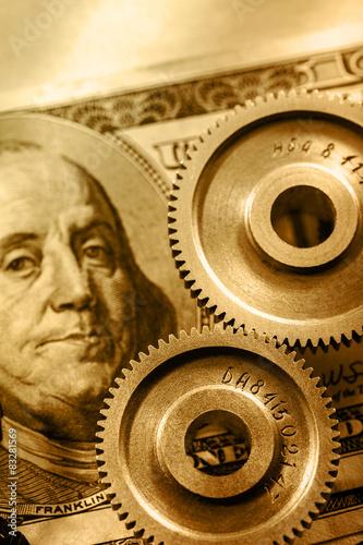 plakat Grzechotki mechaniczne i dolara - 400_F_83281569_lwybxbmbRjpiolrIX9cGboJibJAB5uZg