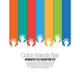 Color Hands Bar