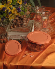 Nuts in Glass food storage