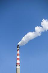 smoke and chimney