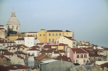 Lisbona, Tetti