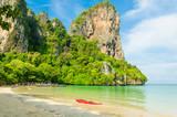 Beautiful Tropical Sand Beach, Krabi, Thailand