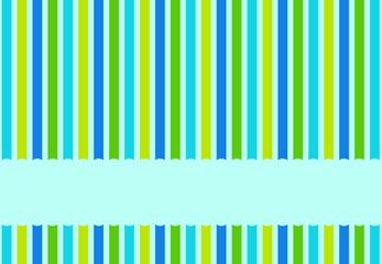 Streifenmuster blau grün gelb mit Textfreiraum