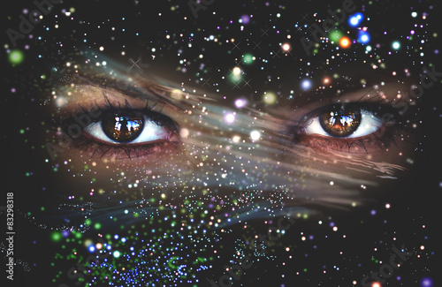 Poszter Eyes of the Universe, space Eye, live space