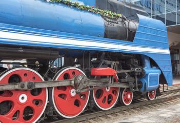 Soviet-speed passenger steam locomotive