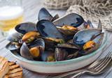 Fototapety Steamed Mussels