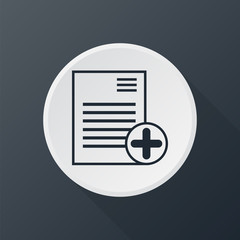 icon add list