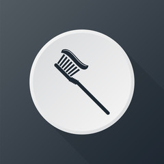 icon toothbrush