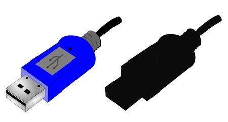 usb flash drive in 2 styles