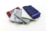 handkerchiefs for men on a white background