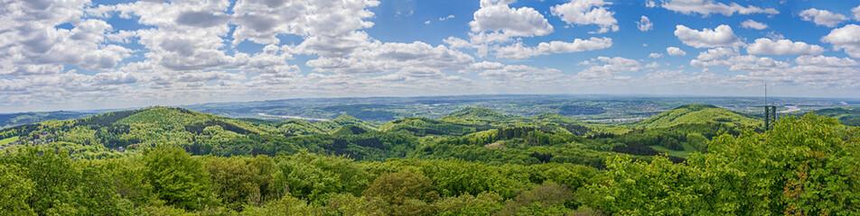 Siebengebierge- Panorama vom Oelberg