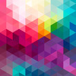 Abstract colorful seamless pattern background