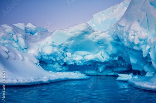 Papiers peints Antarctique Antarctic Glacier