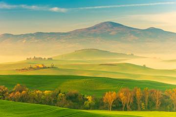 Tuscany Spring Landscape Italy