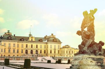 Drottningholm Palace Gardens at Stockholm - Sweden