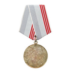 medal isolated on white