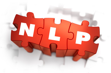NLP - White Word on Red Puzzles.