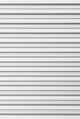 White corrugated metal background and texture surface.